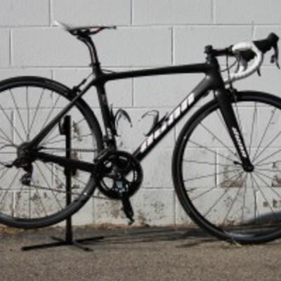 Dunn Bicycle (50cm) Sram Red Black, Fsa cockpit, Techlite wheels= 14lbs15oz ready to ride w/look blade pedals.