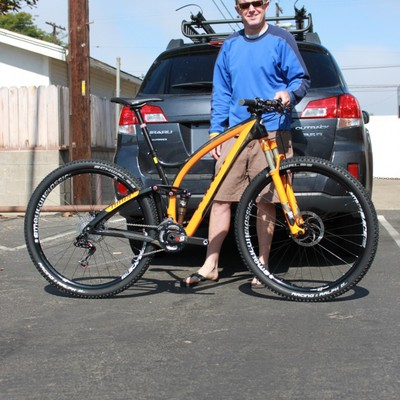 NINER JET 9 RDO Carbon size (med) Sram XO, Am classic race wheels!  this bike is fast!!!!!