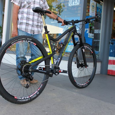 Santa Cruz Tallboy SRAM X01 Build