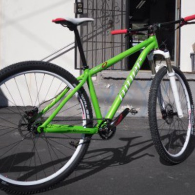 Niner One 9 Kermit Green!